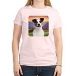 Jack Russell Meadow Women's Light T-Shirt