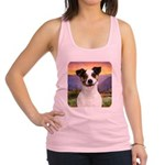 Jack Russell Meadow Racerback Tank Top