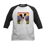 Jack Russell Meadow Kids Baseball Jersey