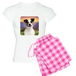 Jack Russell Meadow Women's Light Pajamas
