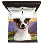 Jack Russell Meadow King Duvet