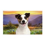 Jack Russell Meadow 3'x5' Area Rug