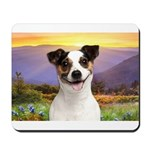 Jack Russell Meadow Mousepad