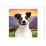 Jack Russell Meadow Small Poster