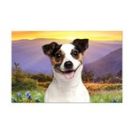 Jack Russell Meadow Mini Poster Print