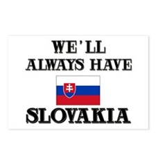 We Will Always Have Slovakia Postcards (Package of
