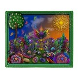 Fractal Garden and Undersea Collages Reversible B