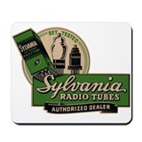 Sylvania Radio Tubes Mousepad