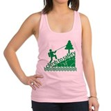 Don't Panic, Climb to Safety Racerback Tank Top