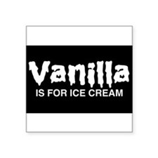 Vanilla Sticker