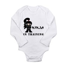 Girl Ninja In Training Body Suit