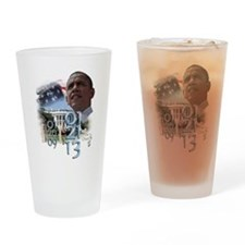 Obama's 2 Terms: Drinking Glass