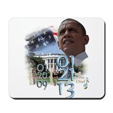 Obama's 2 Terms: Mousepad