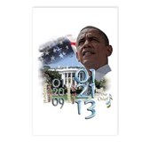 Obama's 2 Terms: Postcards (Package of 8)