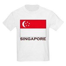 Flag of Singapore Kids T-Shirt