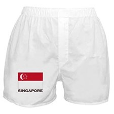 Flag of Singapore Boxer Shorts