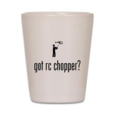 RC Helicopter Shot Glass