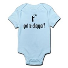 RC Helicopter Infant Bodysuit