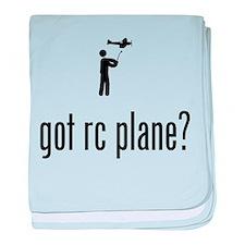 RC Aeroplane baby blanket