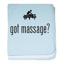 Massage baby blanket