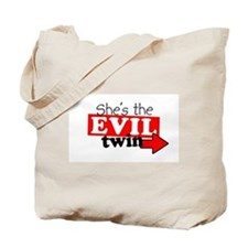 She Evil Twin 2 Tote Bag