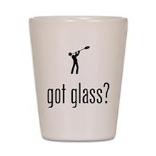 Glass Making Shot Glass