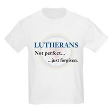 Lutherans Not Perfect Just Forgiven T-Shirt