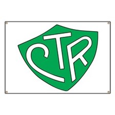 CTR Ring Shield Green Banner