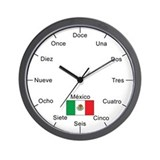 Mexican Language Wall Clock