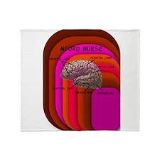 Neuro nurse cell case 3.PNG Throw Blanket