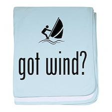 Wind Surfing baby blanket