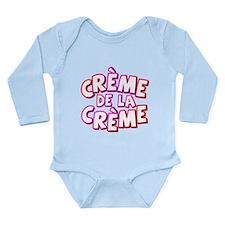 Creme de la creme Long Sleeve Infant Bodysuit
