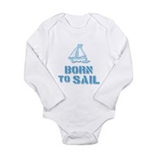 Cute Water boy Long Sleeve Infant Bodysuit