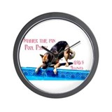 GSD Pool Party Wall Clock