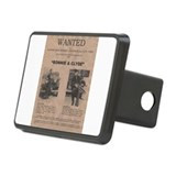 Bonnie and Clyde Wanted Poster Hitch Cover