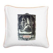 Ghost of Christmas Past Canvas Pillow