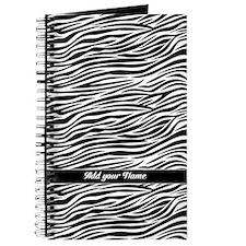 trendy zebra stripes name Journal