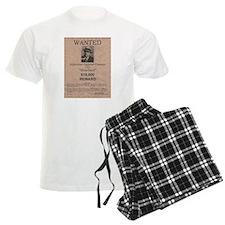 Al Capone Wanted Poster Pajamas