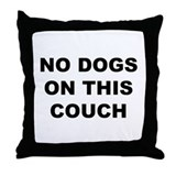 Cute Forbidden Throw Pillow