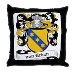 Von Urban Coat of Arms Throw Pillow