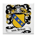 Von Urban Coat of Arms Tile Coaster