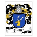 Trampe Coat of Arms Small Poster