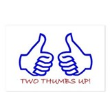 TWO THUMBS UP! Postcards (Package of 8)