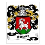 Steiner Coat of Arms Small Poster