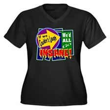 Go Insane-Jimmy Buffett/t-shirt Women's Plus Size