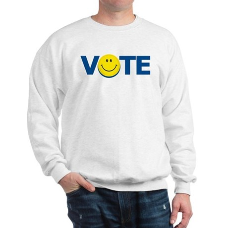 Vote Smiley Face: Sweatshirt