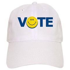 Vote Smiley Face: Cap