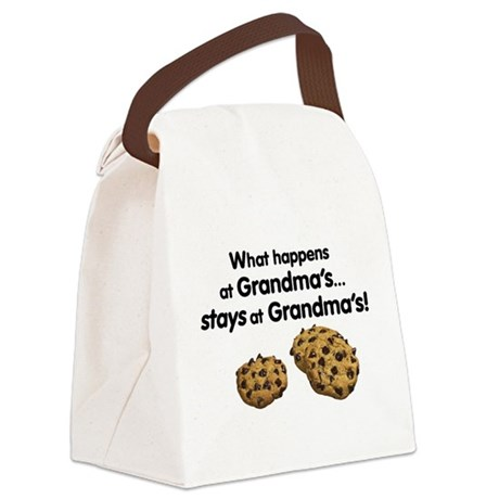 Stays at Grandmas Canvas Lunch Bag