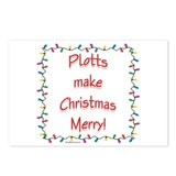 Merry Plott Postcards (Package of 8)