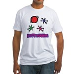Lets Bounce Jacks Jax.png Fitted T-Shirt